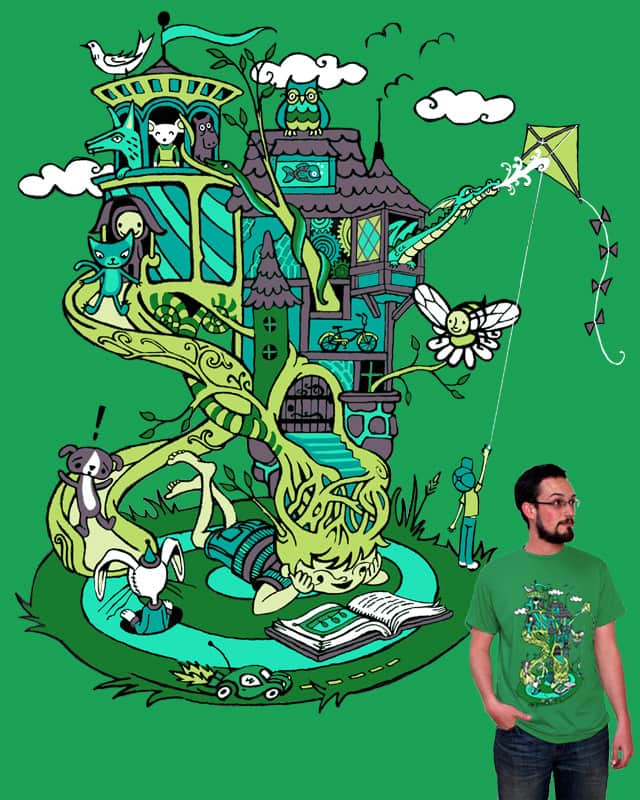 A Growing Imagination by t1nk3rb3ll3 on Threadless
