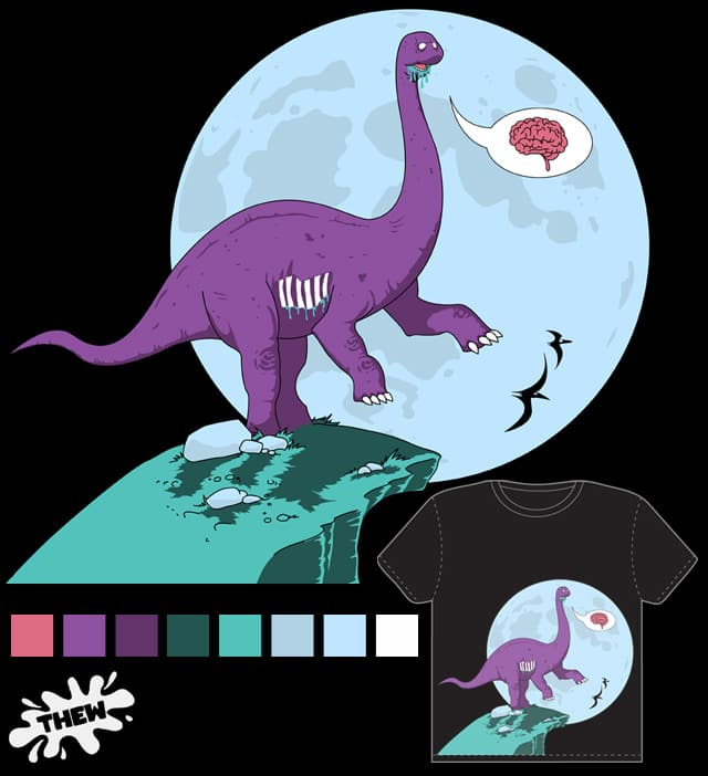 Zombisarus by iThew on Threadless