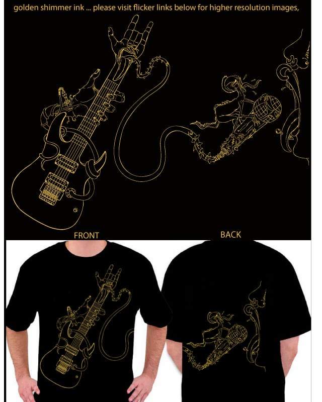 golden solo by zenbolic vision on Threadless