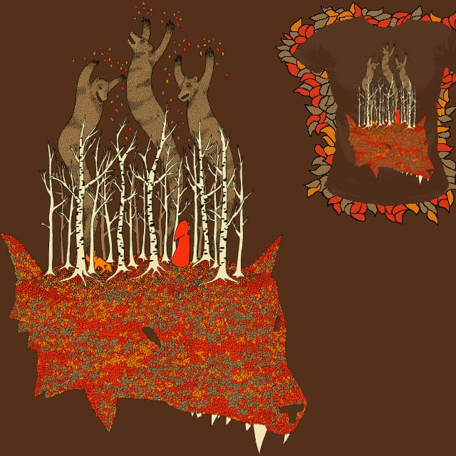 Things in the Woods by ninety on Threadless