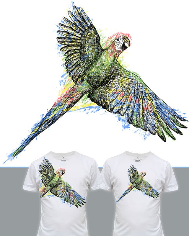 MACAW!! by EricDiaz on Threadless