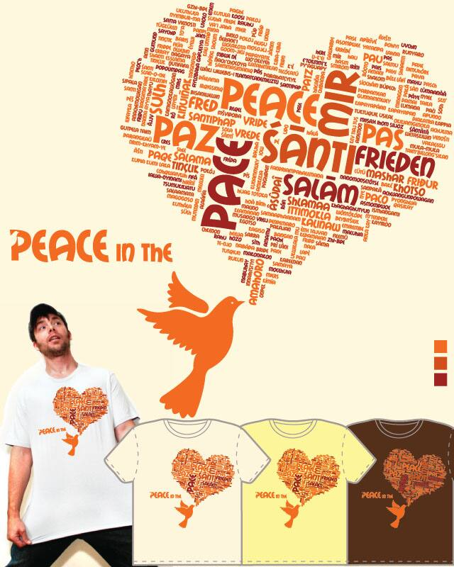 Peace in the Heart by glowind on Threadless