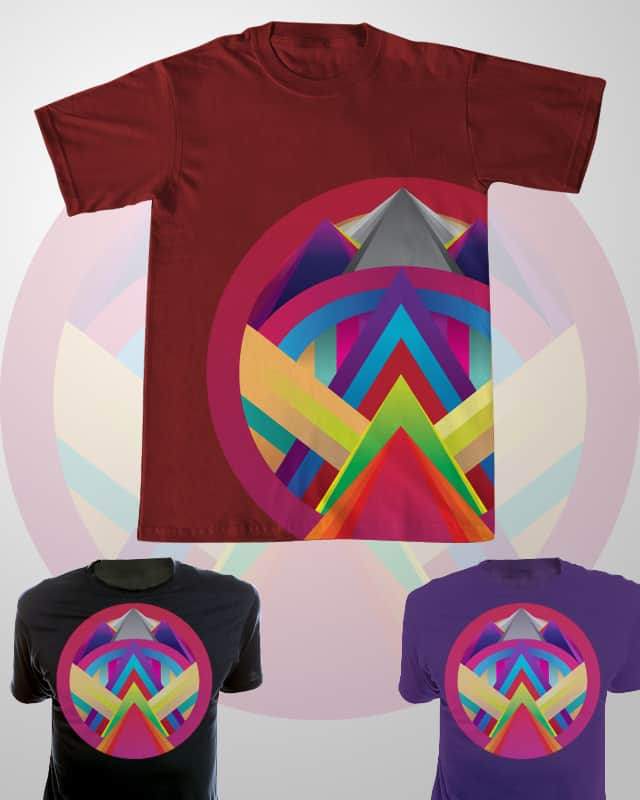 The Great Pyramids by speedyjvw on Threadless