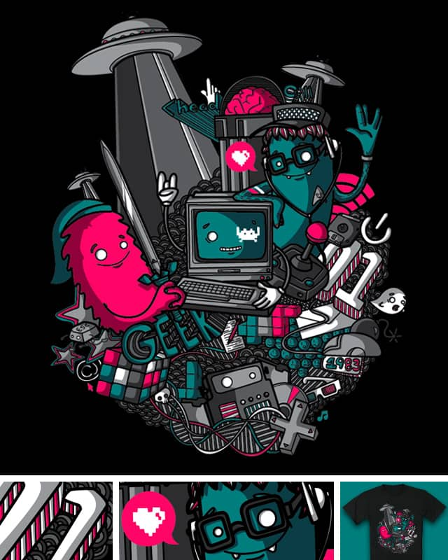 <Geek> by Recycledwax on Threadless