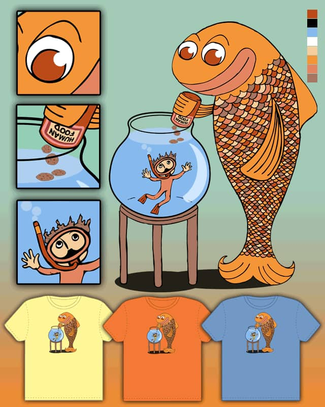 Fishy Fish by TOSOMB on Threadless