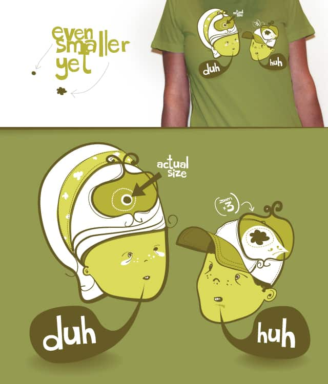pea brain patty and bird brain bimmy by corey9 on Threadless