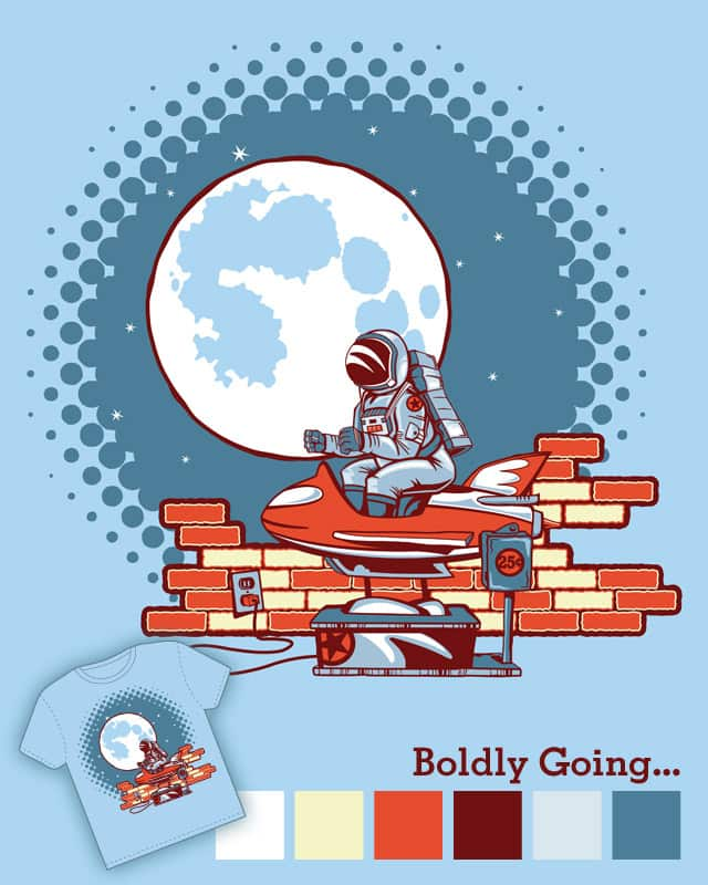 Boldly Going... by bennyd302 on Threadless