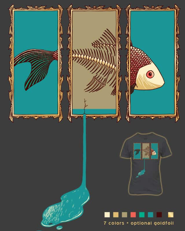 Schrödiger's Fish by againstbound on Threadless