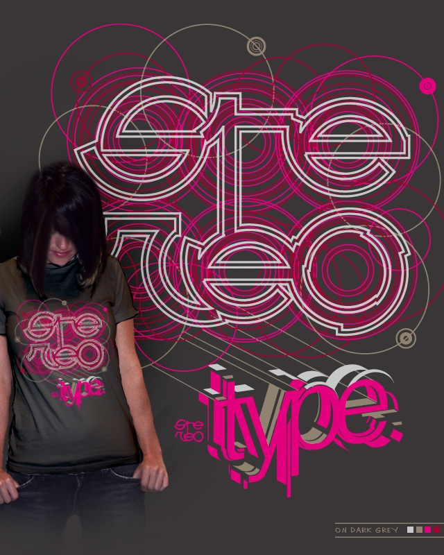 Stereo Type by kako64 on Threadless