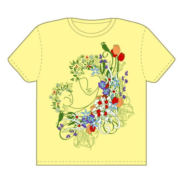 Her Motherly Nature by kstein on Threadless