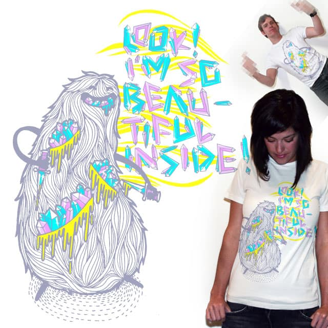 Beautiful inside by apy on Threadless