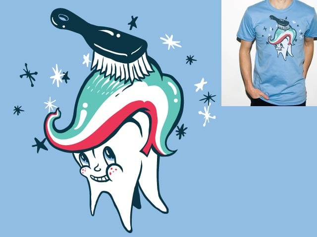 Toothbrush by danrule on Threadless