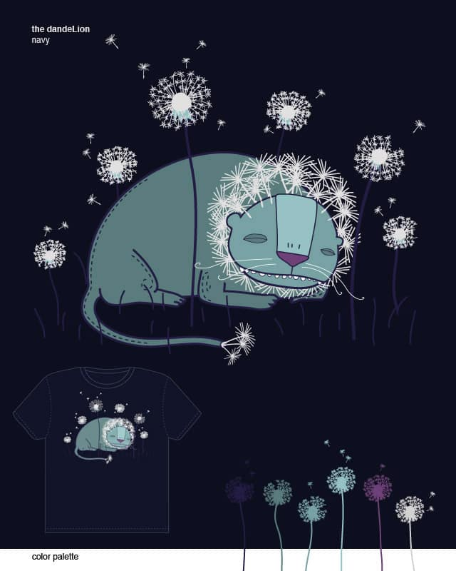 the dandeLion by orangehead on Threadless