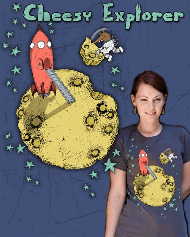 Cheesy Explorer by TOSOMB on Threadless
