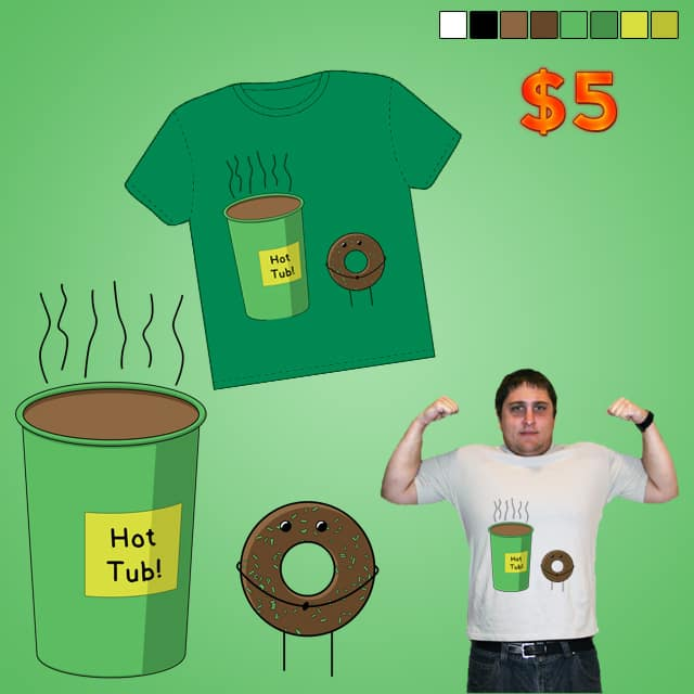 Hot Tub by tylerbramer on Threadless