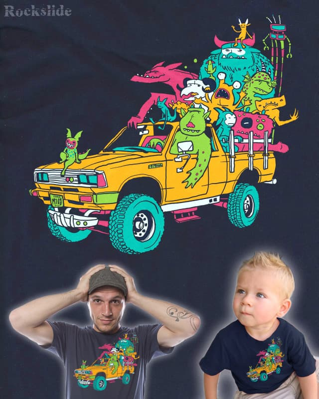 Monster Truck by Rockslide on Threadless