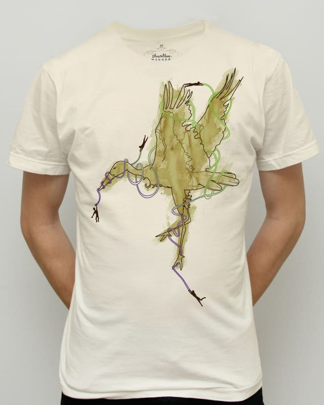 Liberty is not a bird you can catch by Recycledwax on Threadless