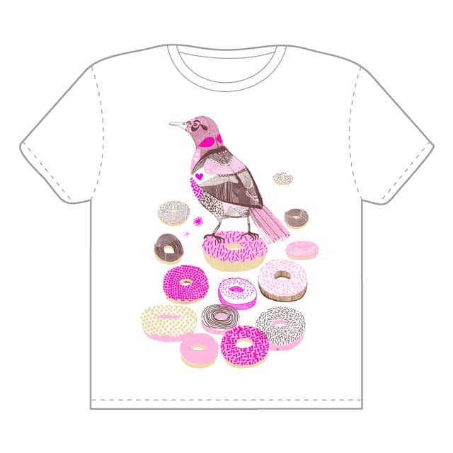 King of the Donuts by jamesgulliverhancock on Threadless