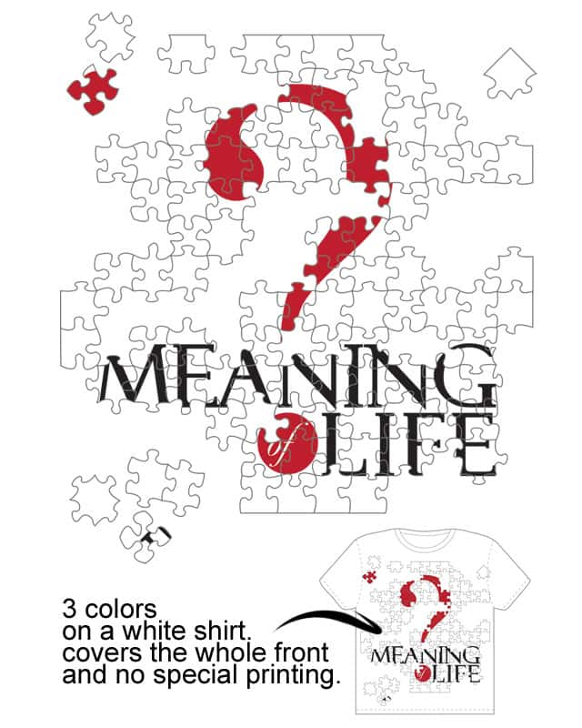 Hard Puzzle to Solve by Miss Fortunate on Threadless