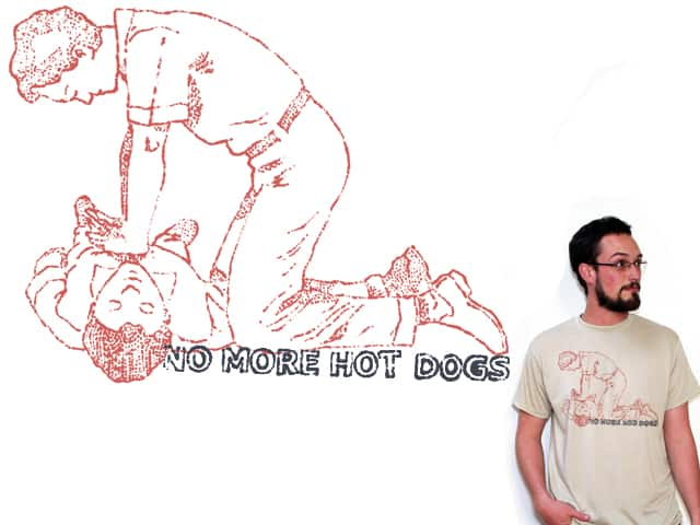 No More Hot Dogs by luxlux on Threadless