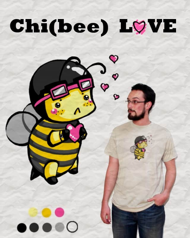 Chibee Love by karasu chan on Threadless