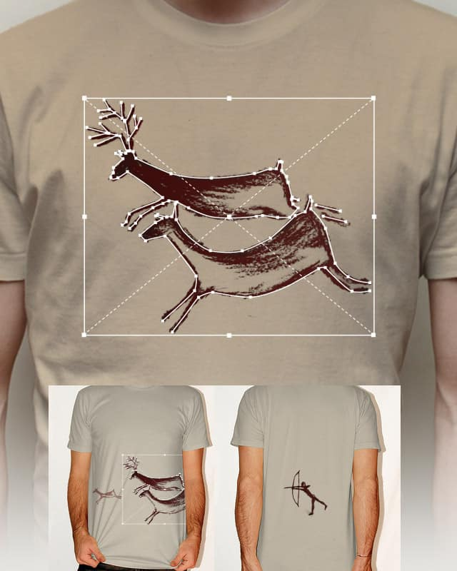 Digital Cave Drawings by Raid71 on Threadless