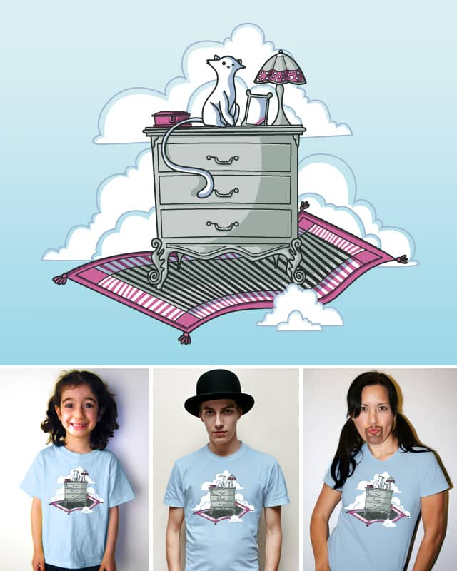 Magic Carpet by Recycledwax on Threadless