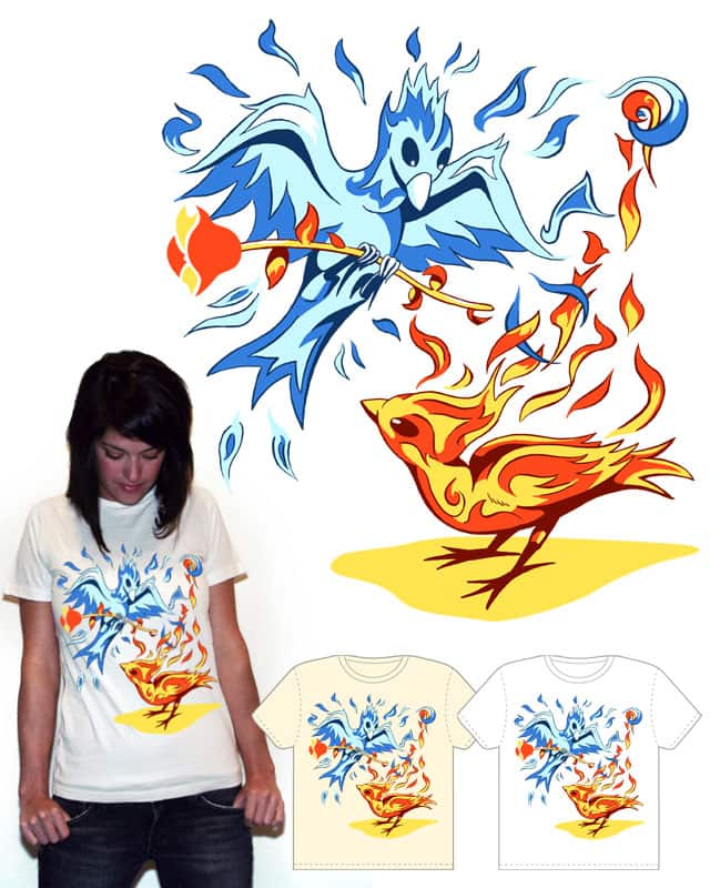 Two Phoenix by msgier on Threadless