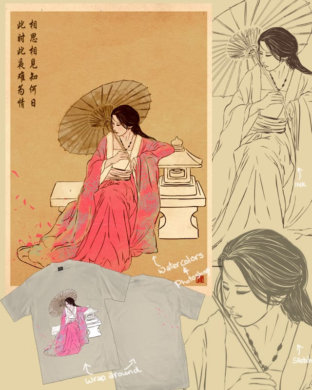 Fade away by xiaobaosg on Threadless