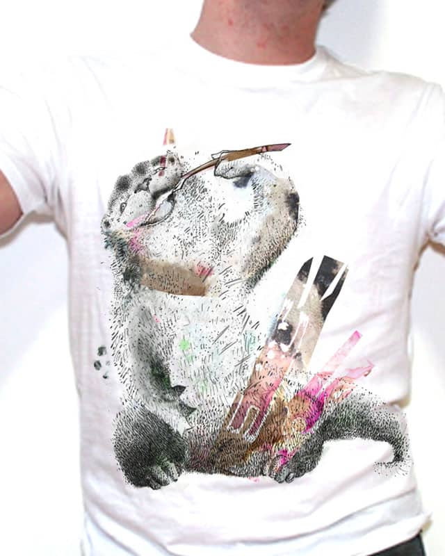 love to chew my pencil by Shaloyou on Threadless