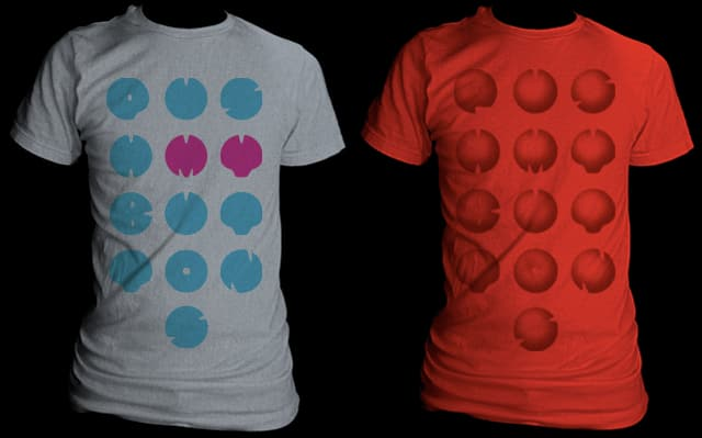push my buttons by EricDiaz on Threadless