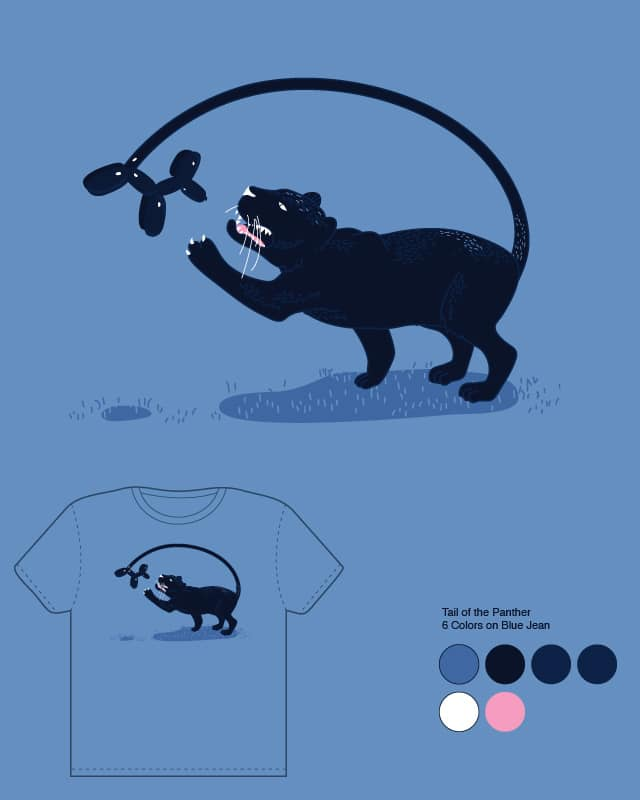 Tail of the Panther by orangehead on Threadless