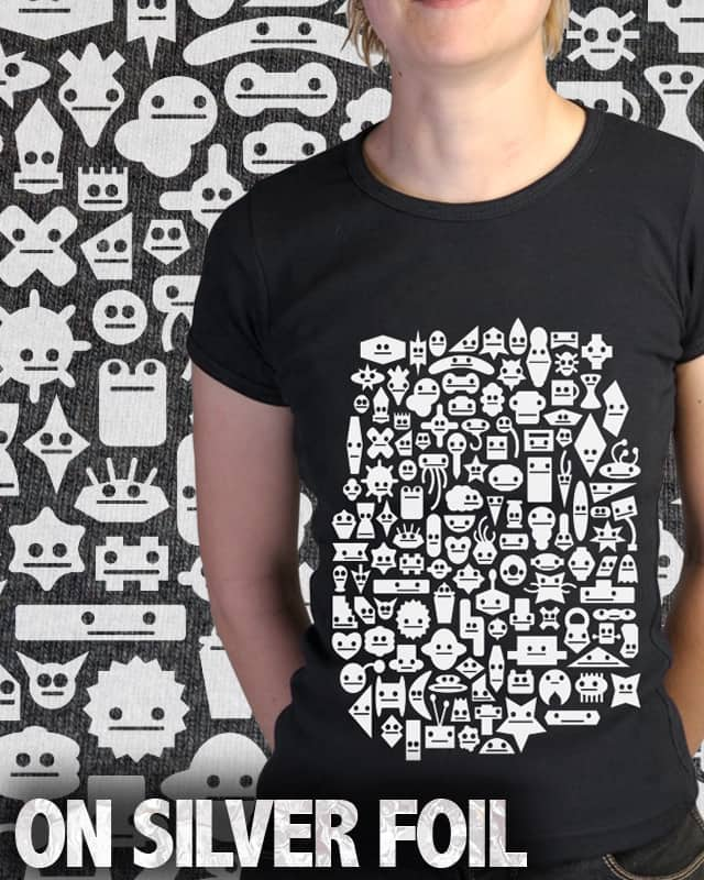 Shapes With Faces by davidfromdallas on Threadless