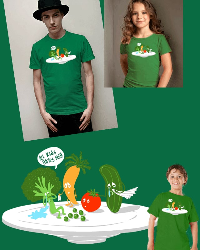 all kids hates me by zenbolic vision on Threadless