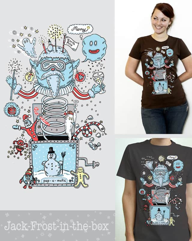 Jack-Frost-in-the-box by igo2cairo on Threadless