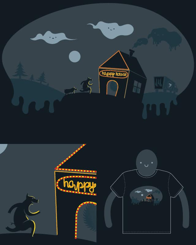 The Happy House! by willylorbo on Threadless