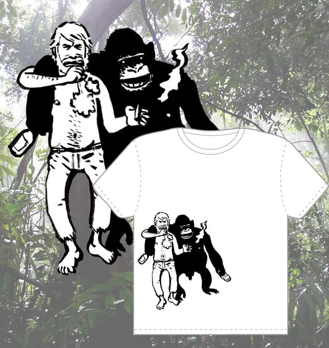 The Great Apes by povorot on Threadless