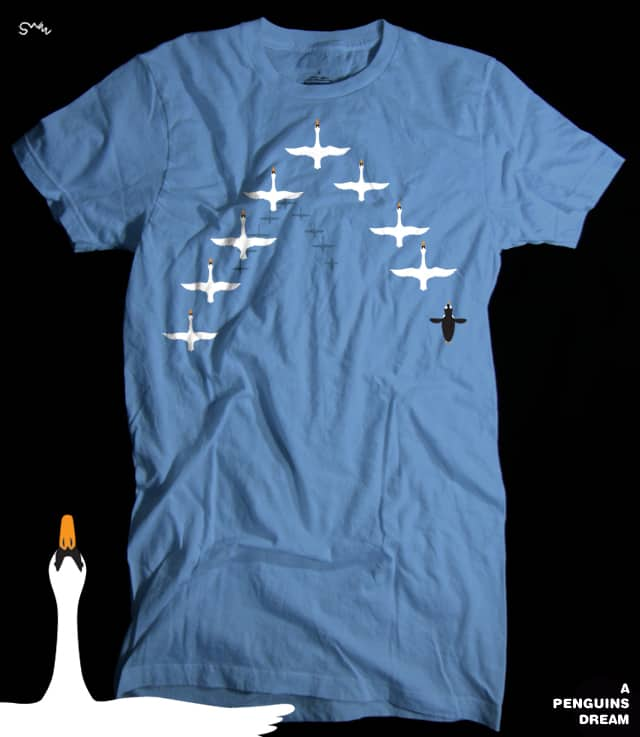 A Penguins Dream by swizz on Threadless