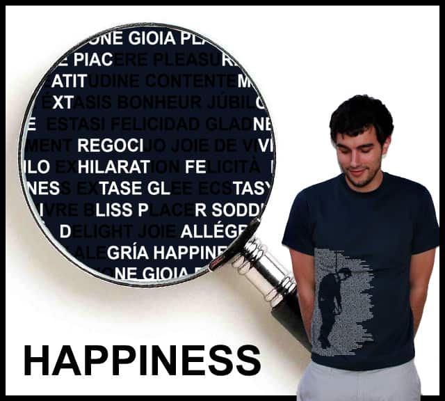 Happiness by twoonebee on Threadless