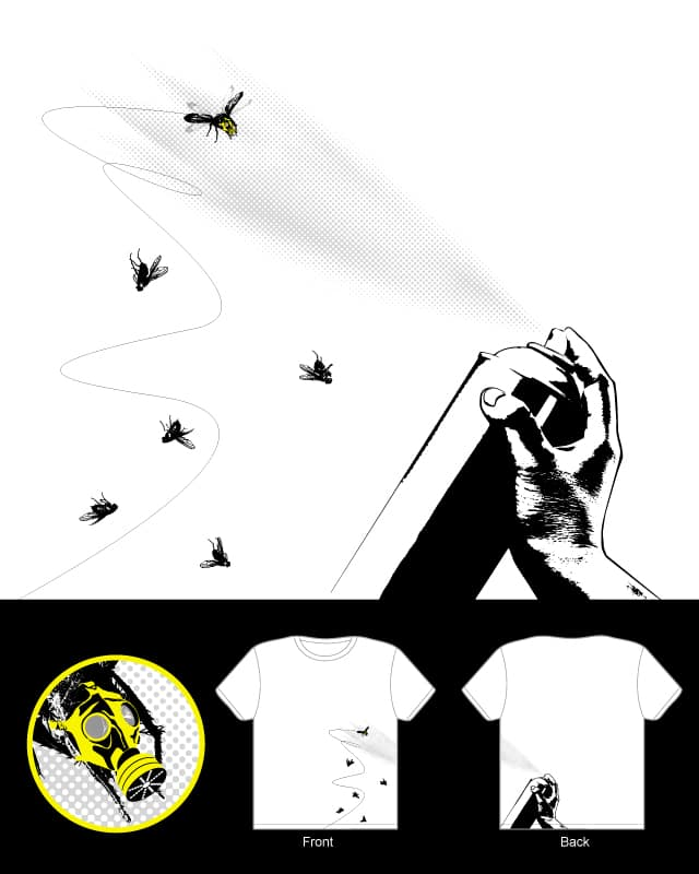 mask fly by lawrence loh on Threadless