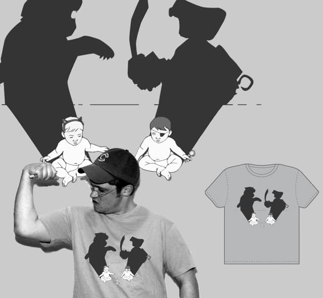 Big Shadow Fun Time by bensticle on Threadless