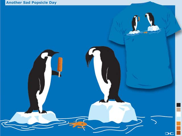 Another Sad Popsicle Day by daless25 on Threadless