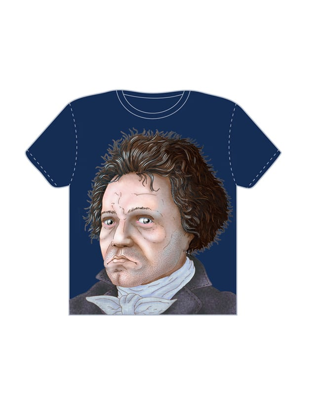 Beethoven by mothership on Threadless