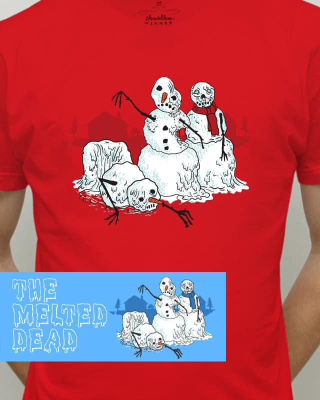The Melted Dead by Raid71 on Threadless