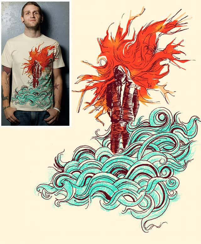So Hot Yet So Cold by TangYauHoong on Threadless