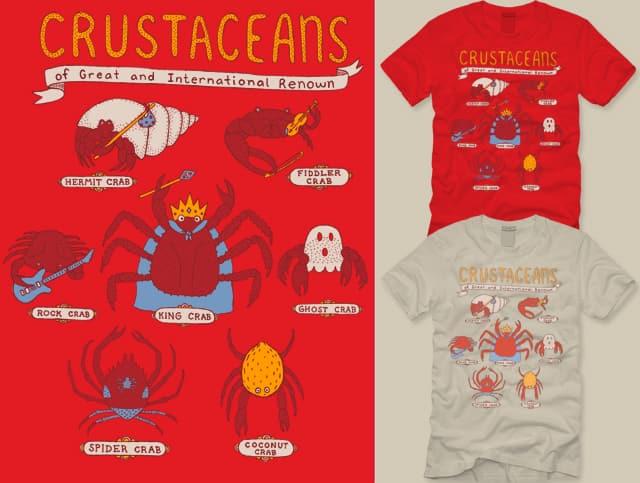 Crabs I Have Known by mj00 on Threadless