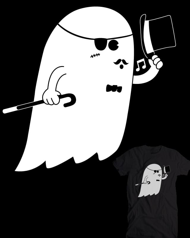 Satisfied Ghost by esskayeesee on Threadless