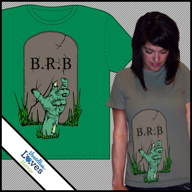 Be right back... by twoonebee on Threadless