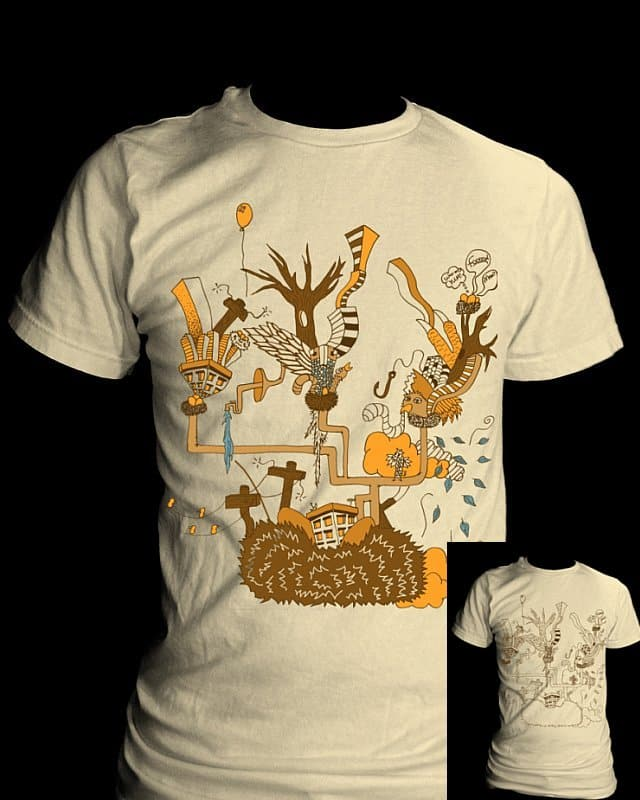 If Birds Could Build Cities by Josh_McCray on Threadless