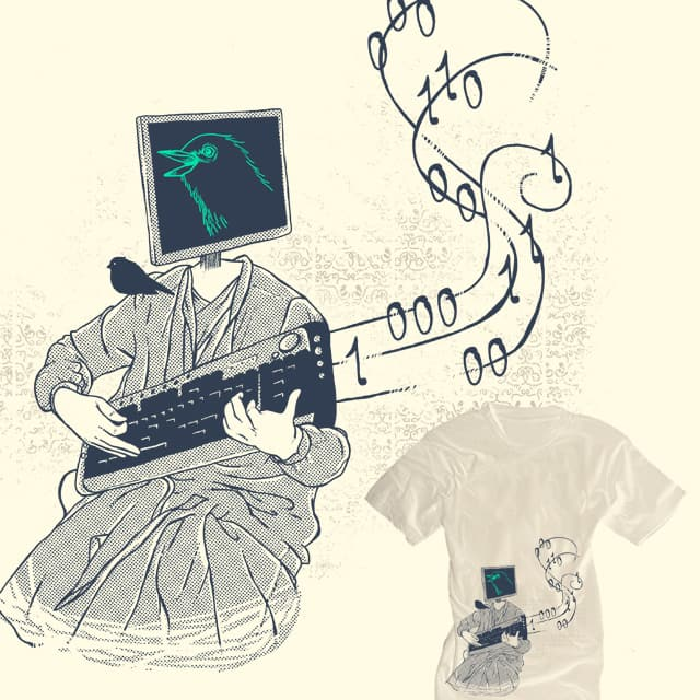 Binary Song by tobiasfonseca on Threadless